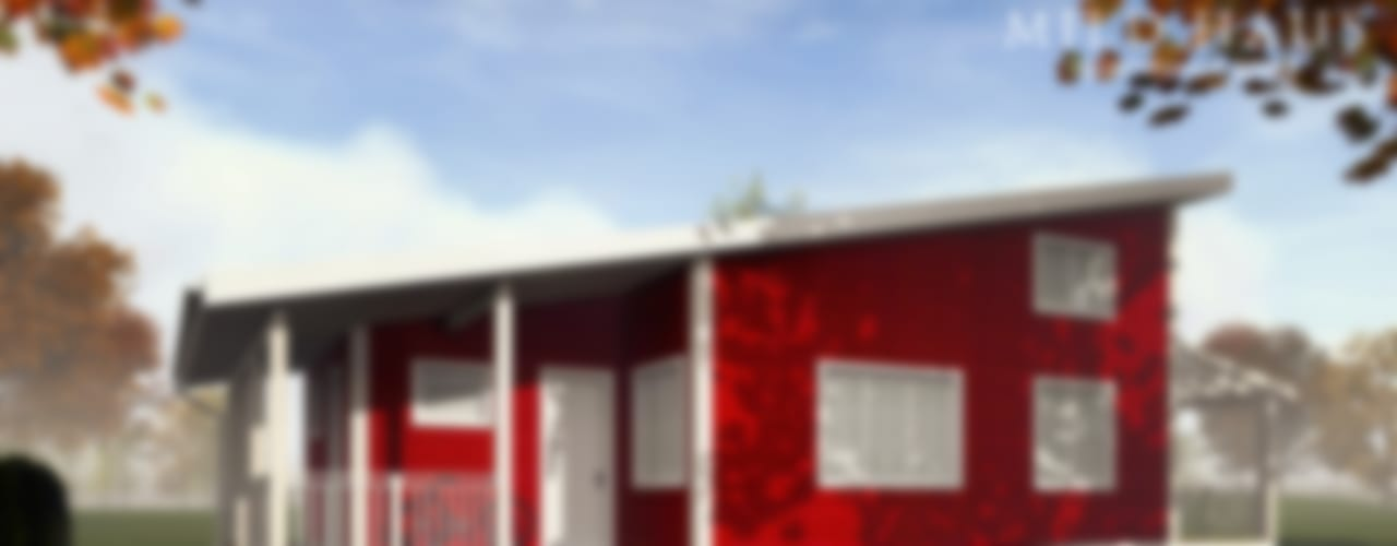 "Проект каркасного коттеджа ""Норвегия Дома в скандинавском стиле от Mild Haus Скандинавский"