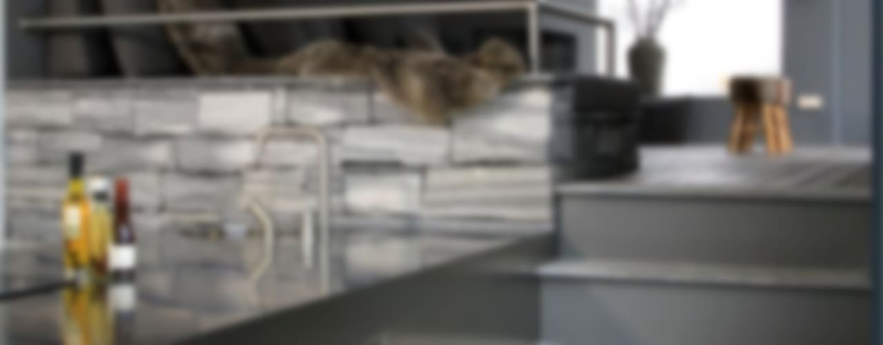 Arend Groenewegen Architect BNA Modern kitchen Granite Grey