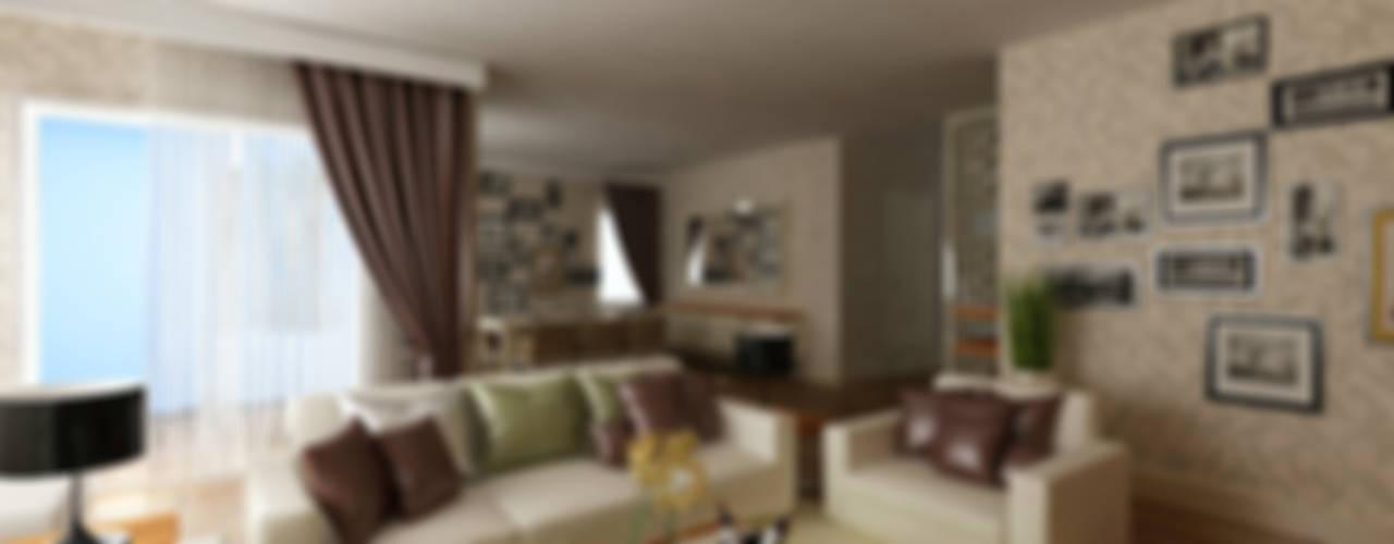 Modern Oturma Odası homify Modern