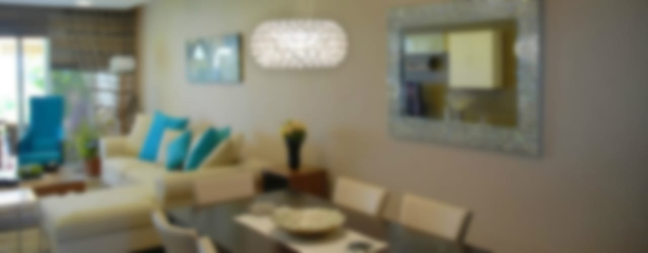VRLWORKS – Sedat Karakuy Villası Antalya:  tarz Yemek Odası