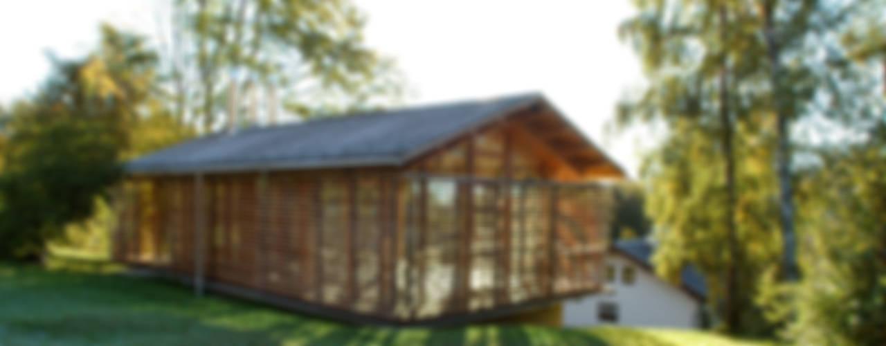 Projekty,  Domy zaprojektowane przez em Architekten GmbH, Wiejski