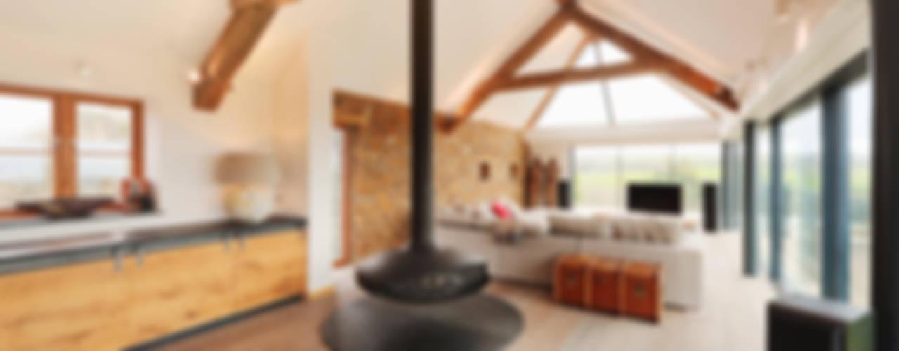 Wohnzimmer von Trewin Design Architects