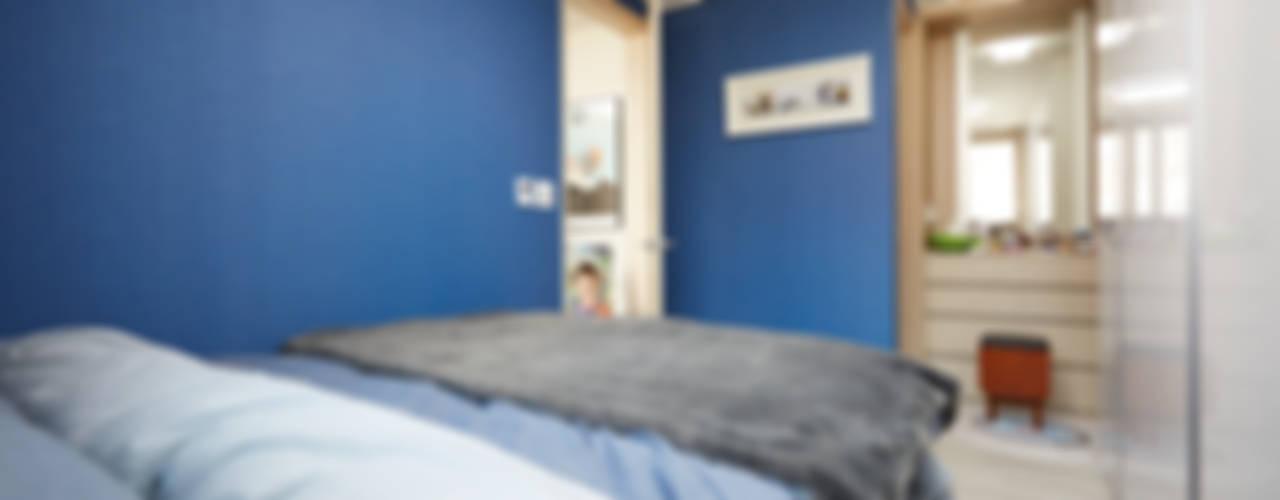 광교 에듀하임 리모델링 : DESIGNSTUDIO LIM_디자인스튜디오 림의  침실