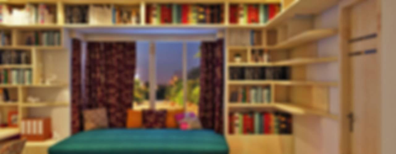 Studio Apartment Design by Creazione Interiors