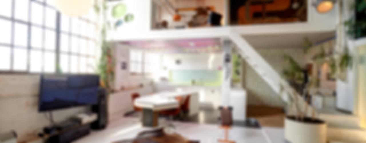 Loft Ausgefallene Wohnzimmer von FM Design Ausgefallen