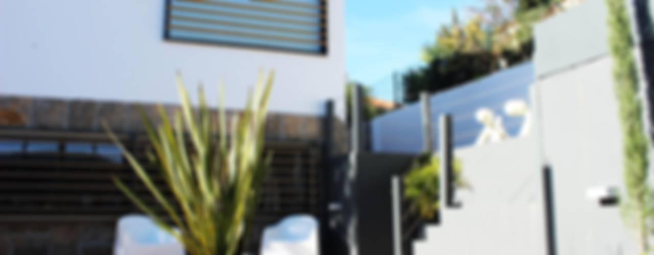 Moradia Garrett Casas mediterrânicas por ARQAMA - Arquitetura e Design Lda Mediterrânico