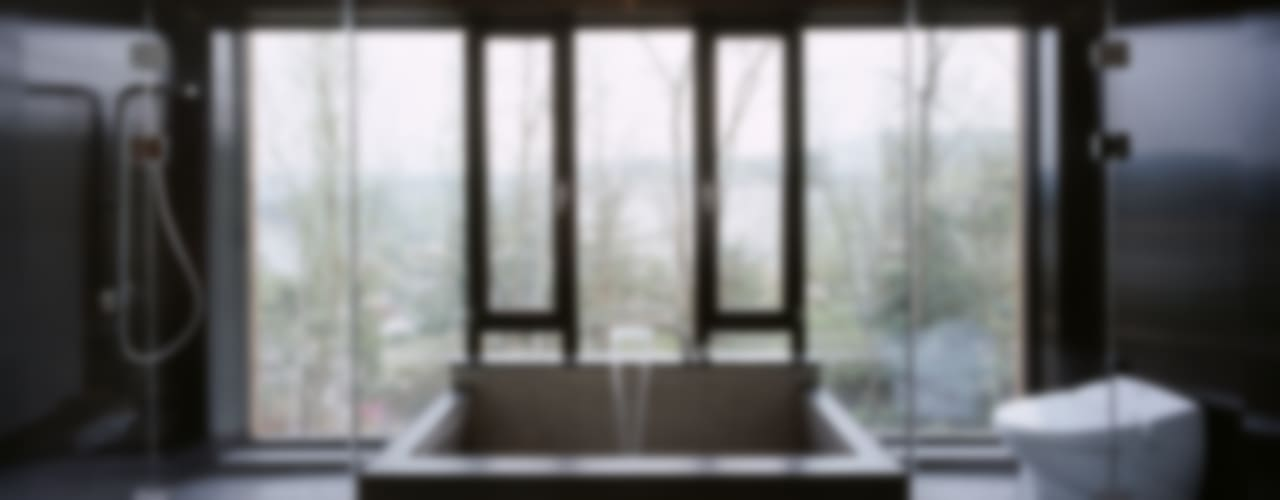 Z-House: 'Snow AIDe의  욕실,