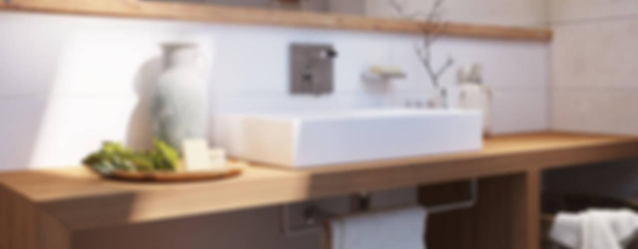 Salle de bains de style  par Polygon arch&des, Scandinave