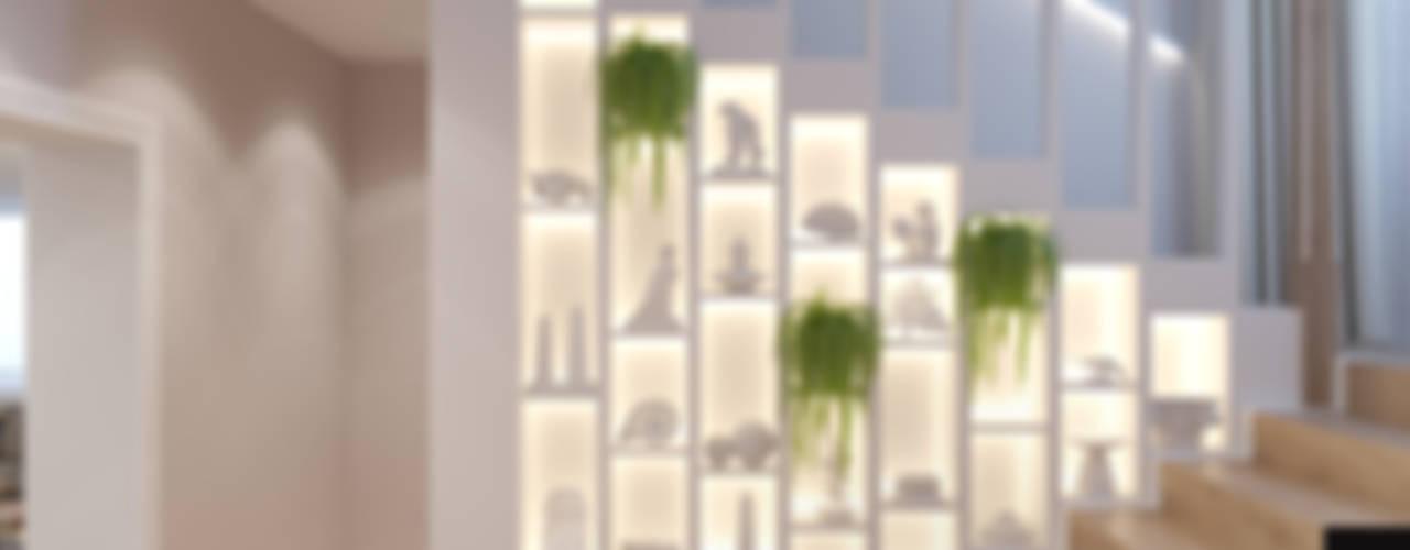 Couloir et hall d'entrée de style  par Студия авторского дизайна ASHE Home, Éclectique