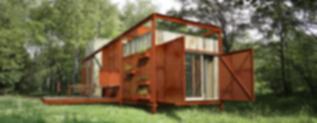 Летний дом Дома в стиле модерн от План_Б Модерн