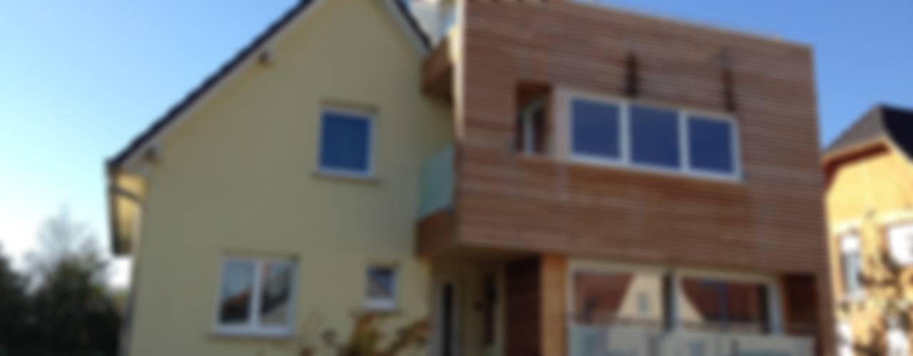 Nowoczesne domy od A.FUKE-PRIGENT ARCHITECTE Nowoczesny