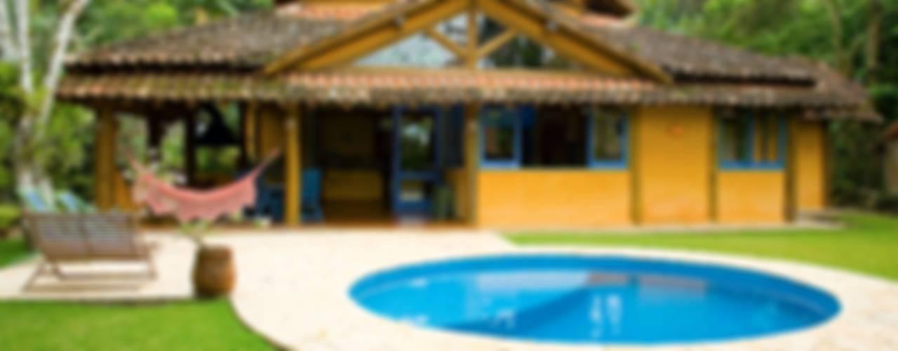 Casas de estilo  por MADUEÑO ARQUITETURA & ENGENHARIA, Rústico