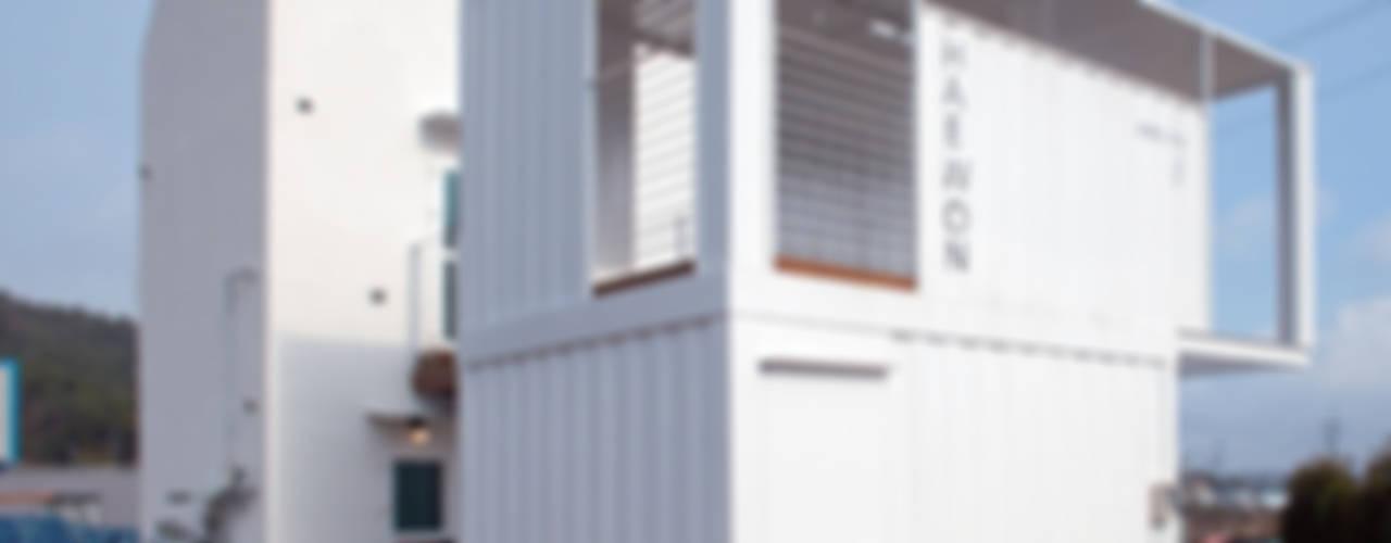 Casas de estilo moderno por AAPA건축사사무소