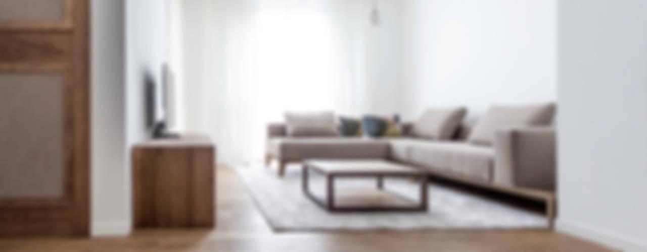 Appartamento Residenziale - Brianza - 2013 - 01: Soggiorno in stile in stile Scandinavo di Galleria del Vento