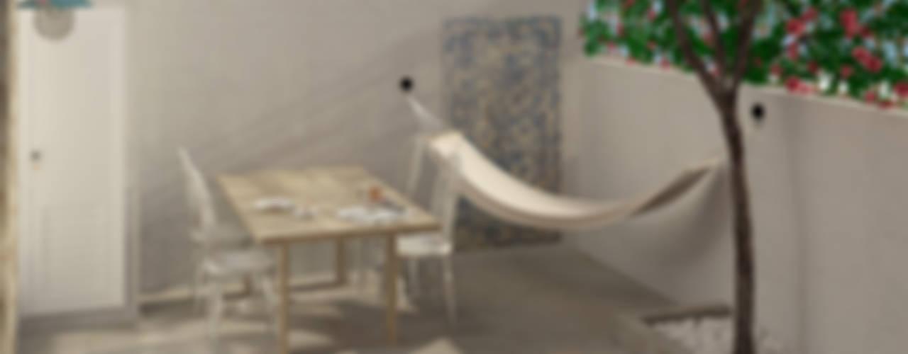 Balcon, Veranda & Terrasse scandinaves par Lagom studio Scandinave