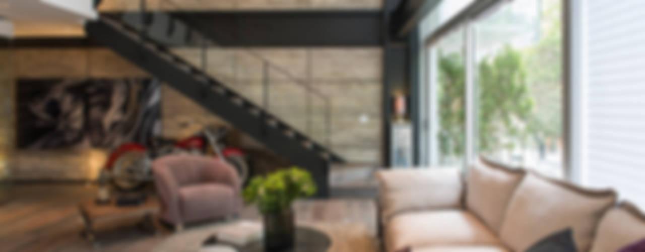 Livings modernos: Ideas, imágenes y decoración de Hansi Arquitectura Moderno