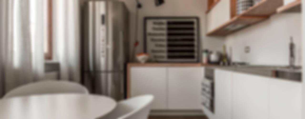 Appartamento Residenziale - Brianza 2014 Cucina in stile scandinavo di Galleria del Vento Scandinavo