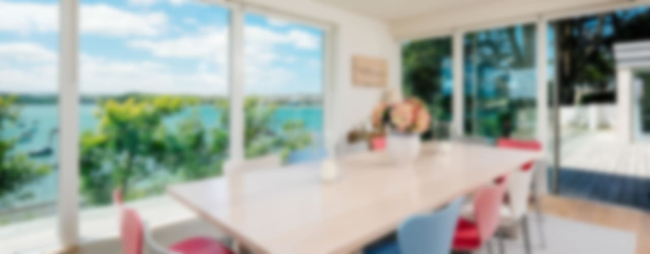 Lower Cole, Rock   Cornwall Modern Dining Room by Perfect Stays Modern