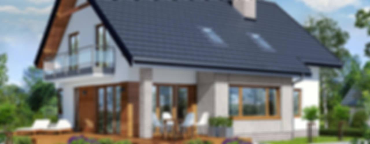 Projekt domu ARCHON+ Dom w aurorach: styl , w kategorii  zaprojektowany przez ARCHON+ PROJEKTY DOMÓW