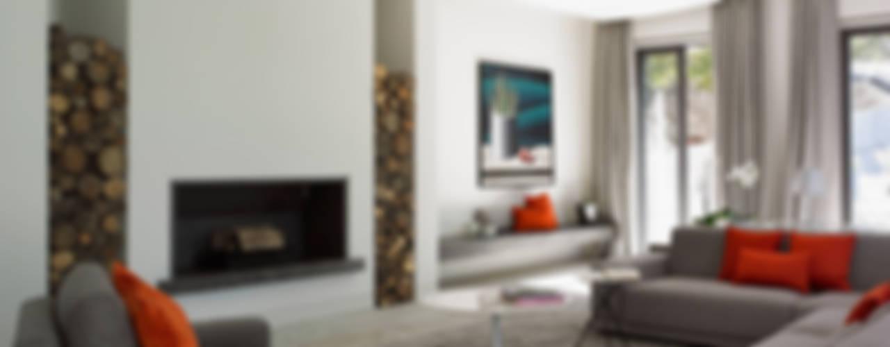 Zagaleta G31 Salones de estilo moderno de Lis Melgarejo Arquitectura Moderno