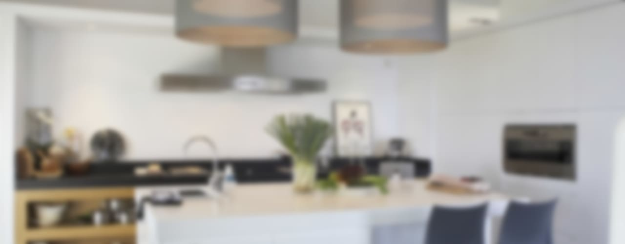 Villa Shangrila Cocinas de estilo moderno de Lis Melgarejo Arquitectura Moderno
