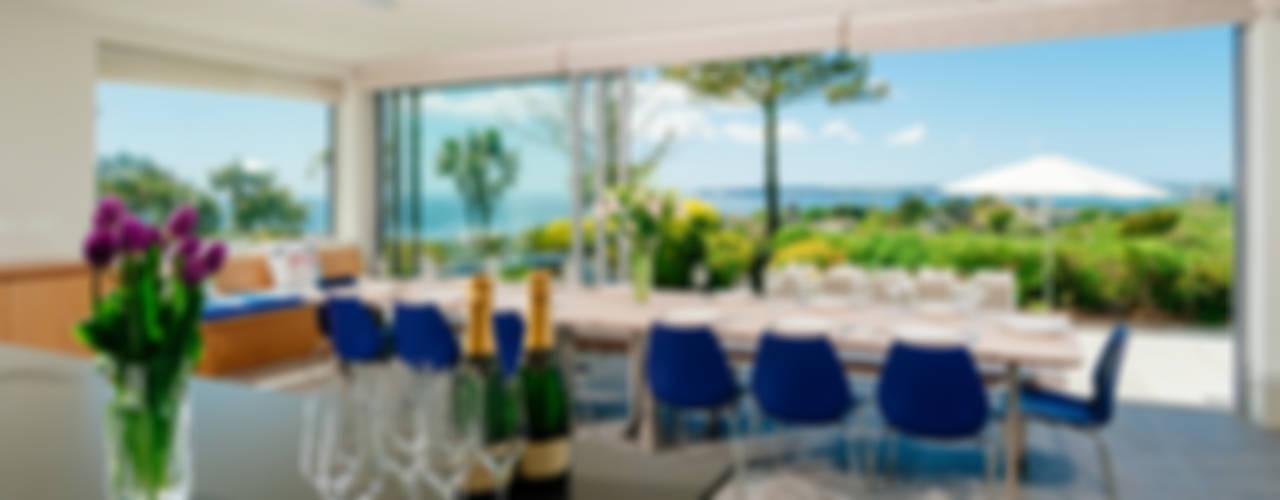 Ednovean House, Perranuthnoe | Cornwall Modern dining room by Perfect Stays Modern