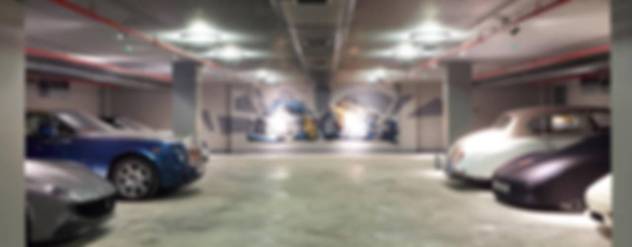 Çamlıca'da Villa Modern Garaj / Hangar Pimodek Mimari Tasarım - Uygulama Modern