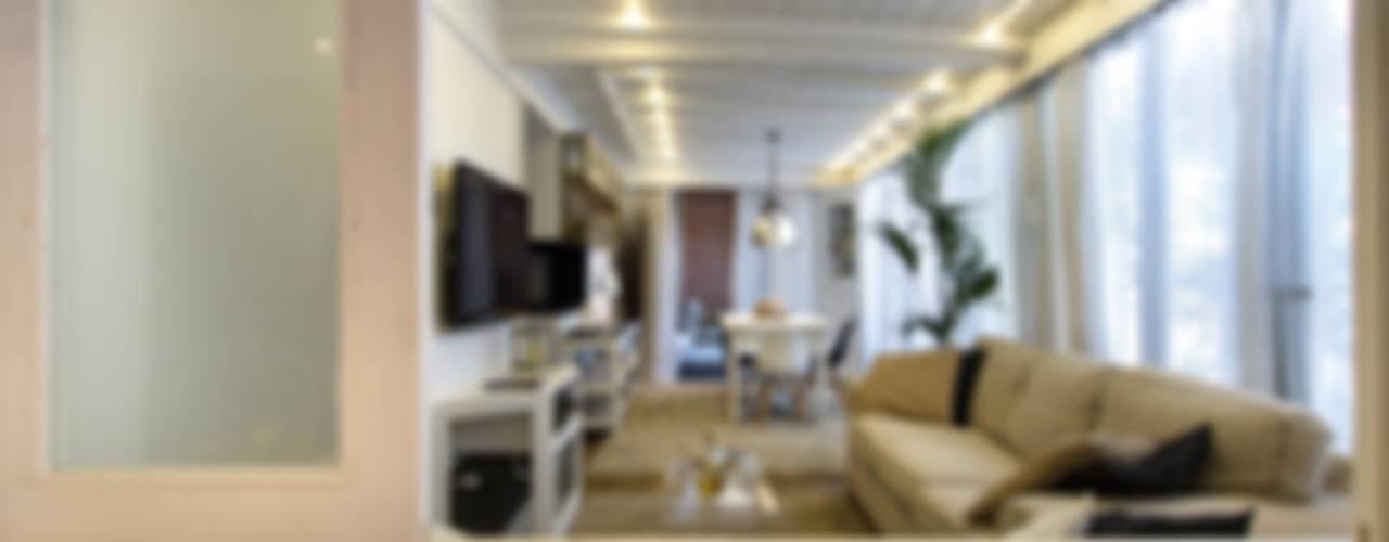 Appartamento modern country Soggiorno moderno di Fabio Carria Moderno