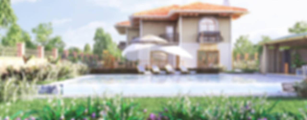 Villa Klasik Bahçe GRNT3D Klasik