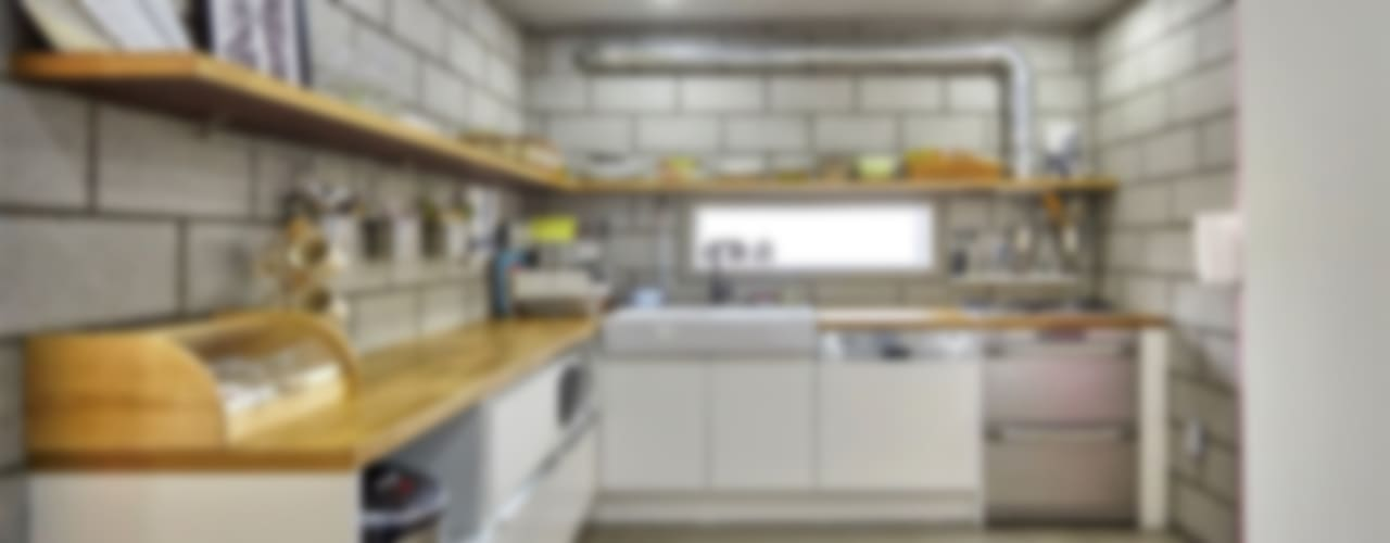 Projekty,  Kuchnia zaprojektowane przez homify, Industrialny