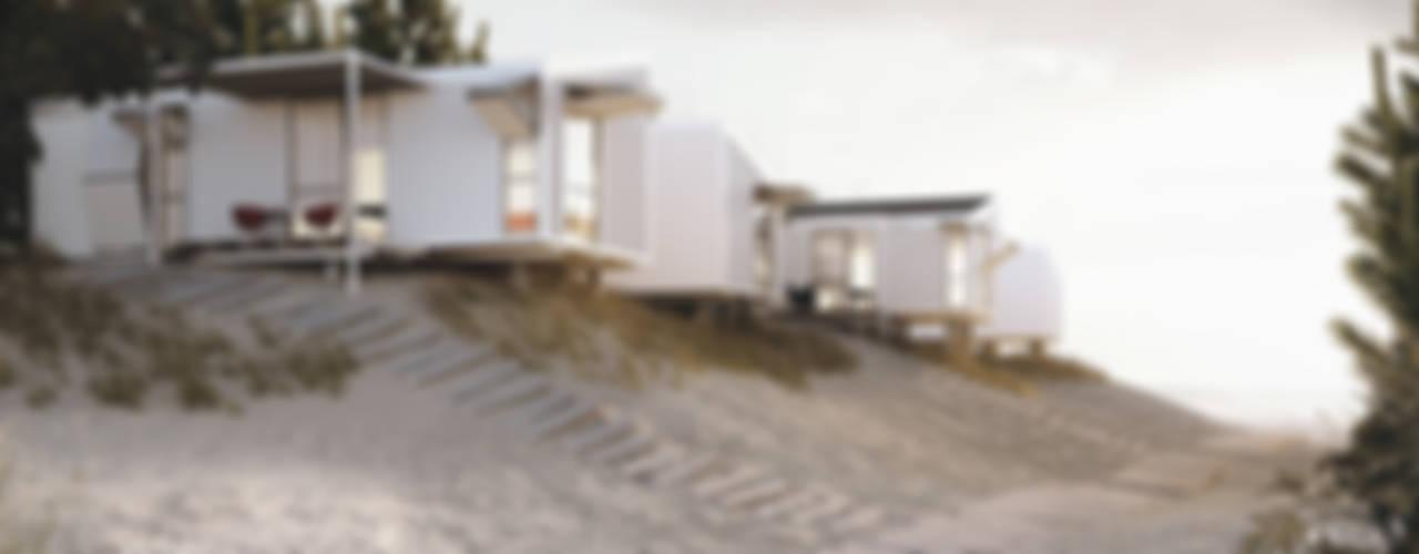 Viviendas Prefabricadas: Casas prefabricadas de estilo  por BS ARQ
