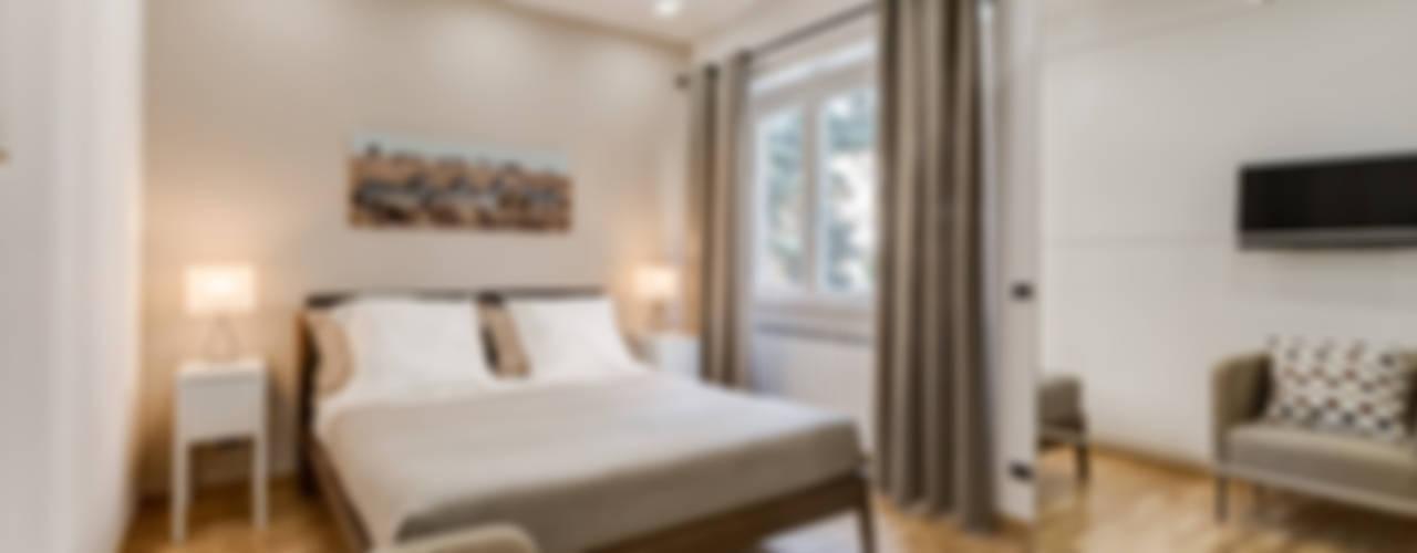 Appartemento Baldo degli Udaldi - Roma Camera da letto moderna di Luca Tranquilli - Fotografo Moderno