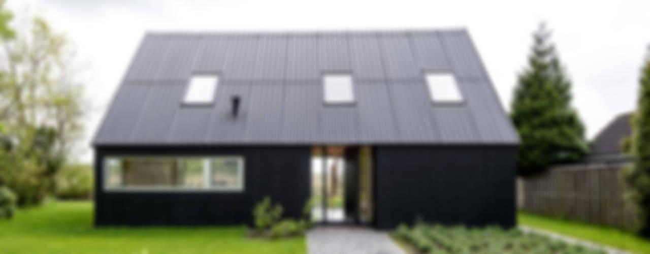Zomerhuis Midlaren Landelijke huizen van Kwint architecten Landelijk