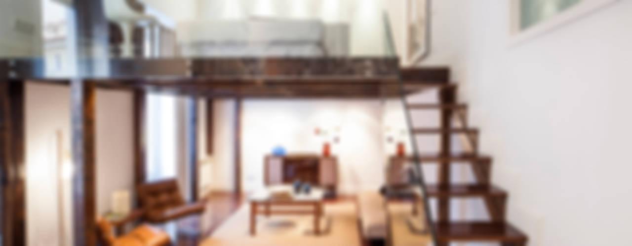 THE SIBARIST MAD LOFT Salones de estilo moderno de The Sibarist Property & Homes Moderno