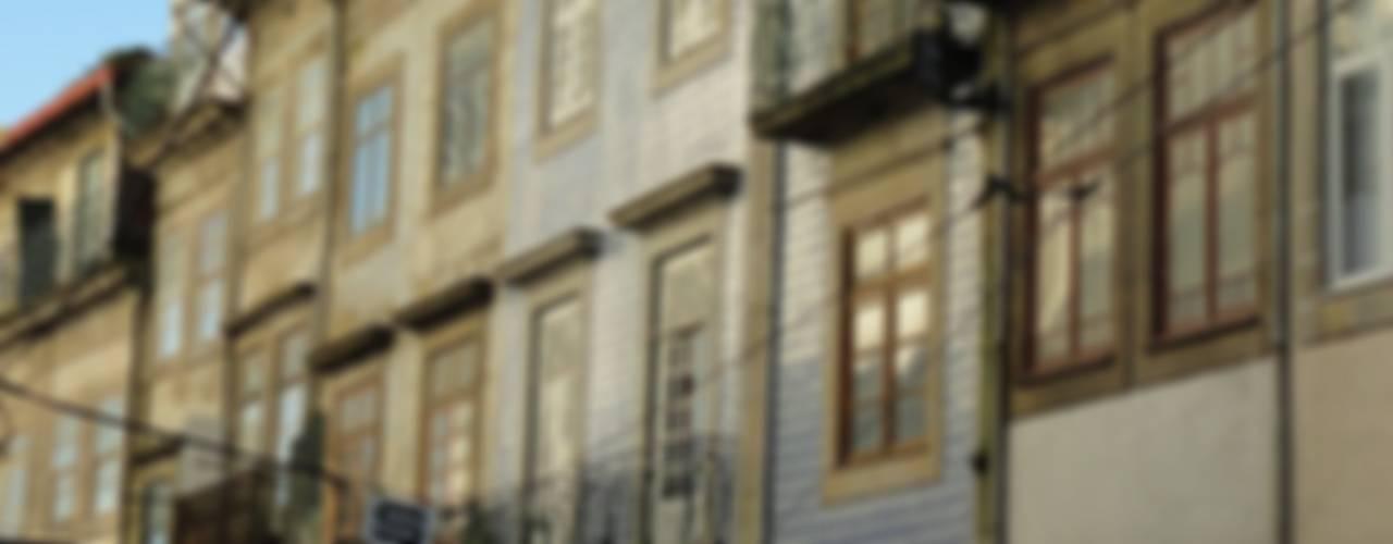 Casa dos Clérigos por Marta d'Alte Arquitetura Moderno
