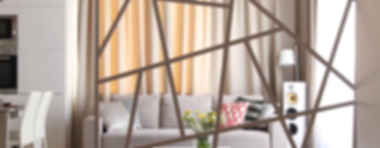Apartament wielbicielki czerwieni Nowoczesny salon od I Home Studio Barbara Godawska Nowoczesny
