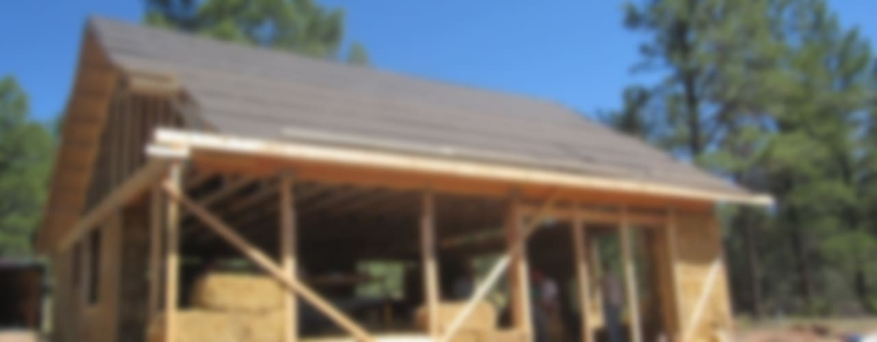Projekty,  Domy zaprojektowane przez Eco House Turkey Saman - Kerpic Ev