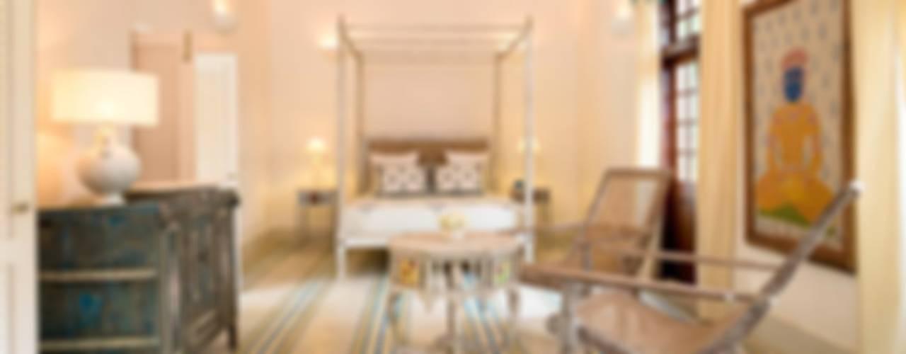 Villa Azul Modern style bedroom by Studio MoMo Modern