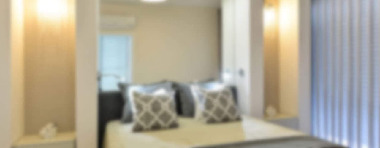 Apartamento T1 – Estoril Quartos modernos por IDEIAS DE INTERIORES Moderno