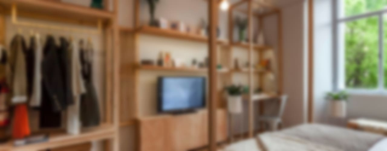Casa Foa 2014 - Espacio 33: Dormitorios de estilo  por DIM
