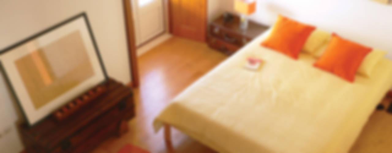ANTIGO GRÉMIO - HOLIDAY HOUSE Quartos campestres por maria inês home style Campestre
