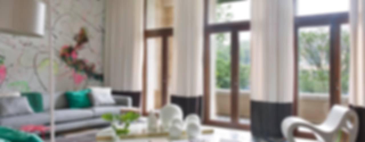 ARTFUL COLOR Salas de estar modernas por SA&V - SAARANHA&VASCONCELOS Moderno