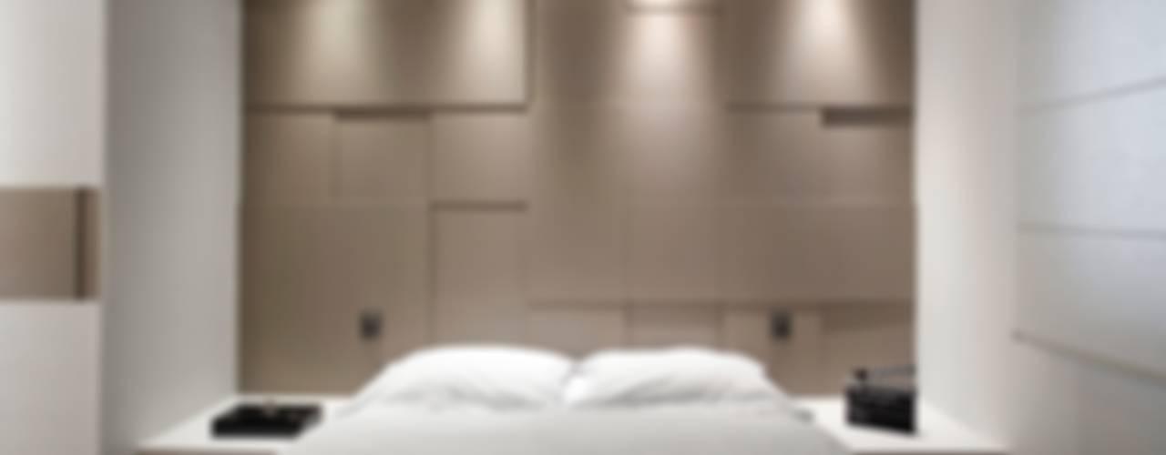 غرفة نوم تنفيذ Andressa Saavedra Projetos e Detalhes, كلاسيكي
