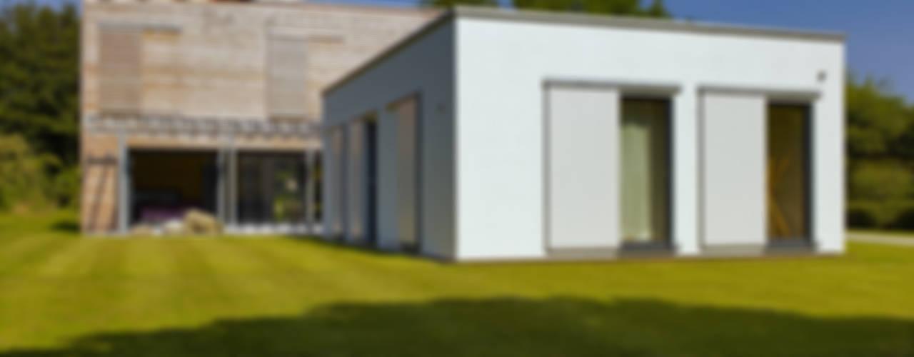 Modern Home Russell Nowoczesne domy od Baufritz (UK) Ltd. Nowoczesny