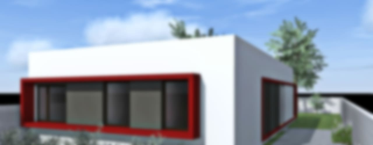 Casas de estilo  por epb arquitectura, Moderno