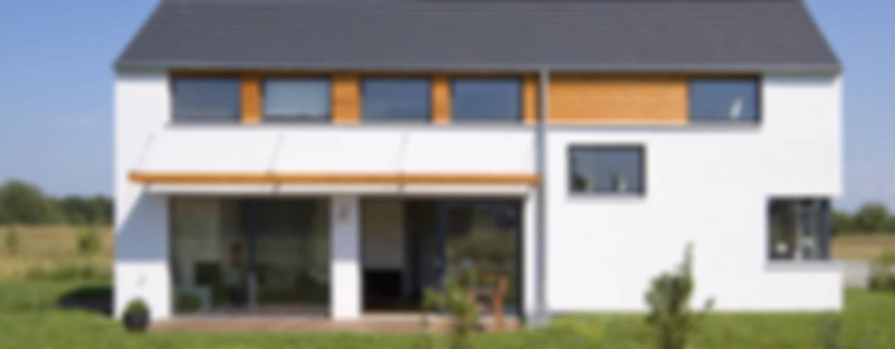 Scandinavische huizen van gondesen architekt Scandinavisch