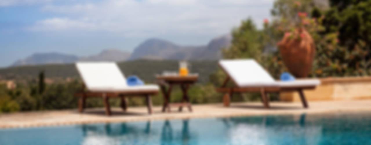Son Doblons Luxury Villa Piscina in stile mediterraneo di Studio Vetroblu_Stefano Ferrando Mediterraneo