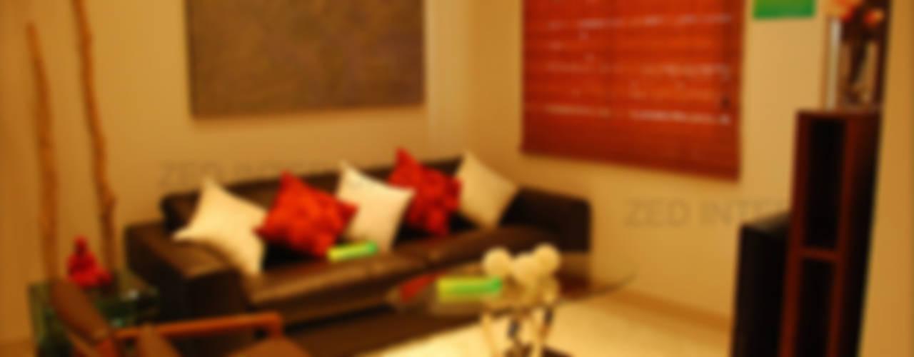 Living Area Designs Modern living room by ZED Associates Pvt. Ltd. Modern