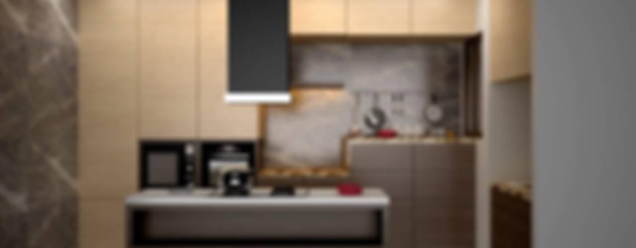Cuisine moderne par Royal Rising Interiors Moderne