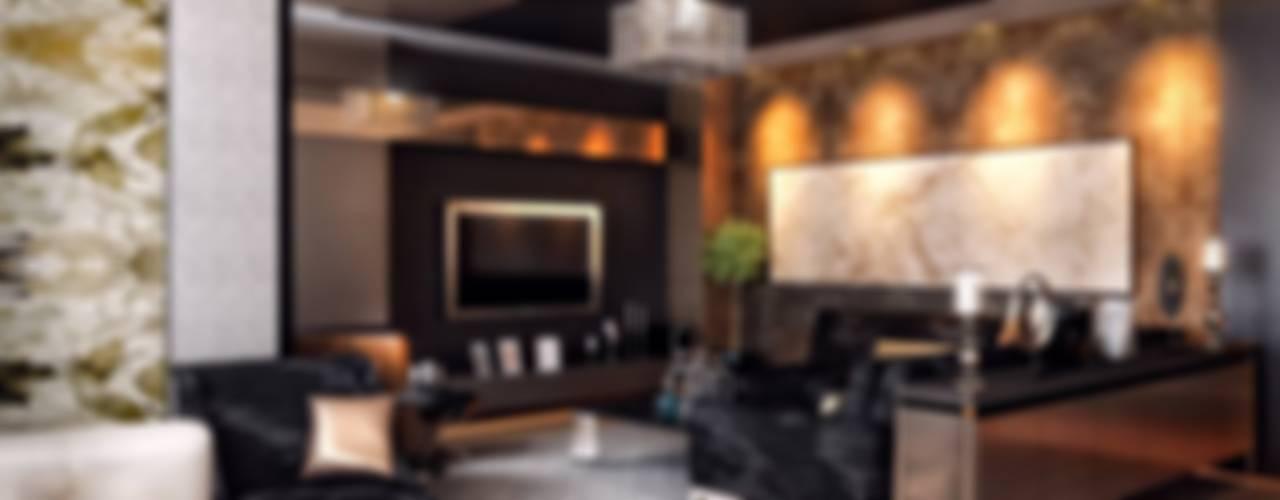 VERO CONCEPT MİMARLIK – Kalafatoğlu Konut:  tarz Oturma Odası